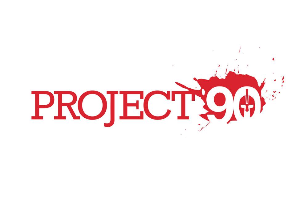 Project 90 Logo